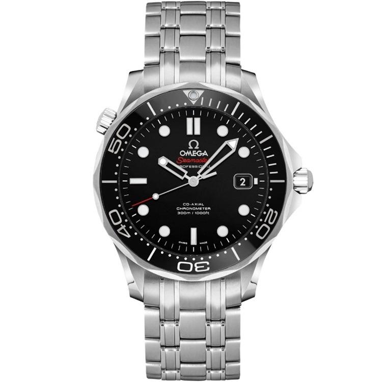 Replica Omega Seamaster Diver 300M 41mm Black Dial 212.30.41.20.01.003