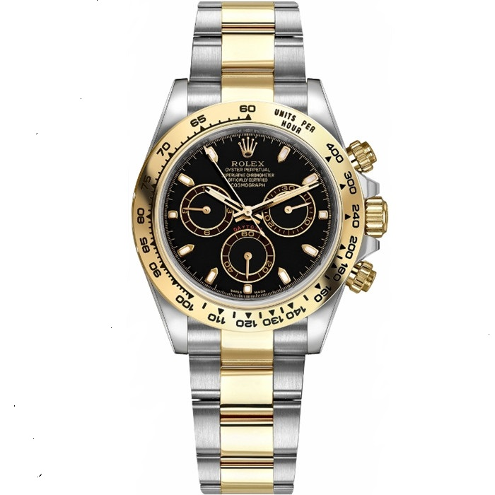 Replica Rolex Cosmograph Daytona Stainless Steel Yellow Gold 116503