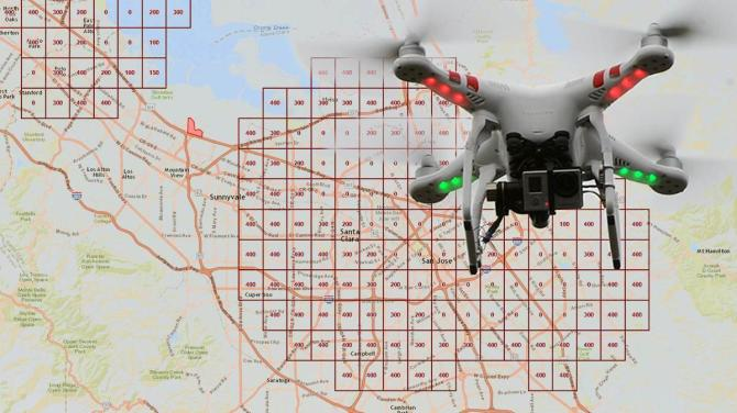 Composite image made from FAA facility map screen shot and AOPA file photo.