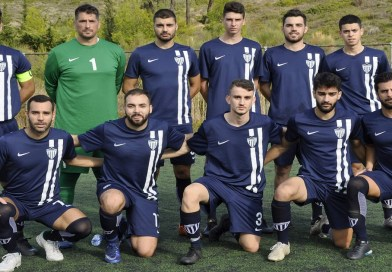 9η Αγωνιστική της Αντρικής ομάδας Ποδοσφαίρου