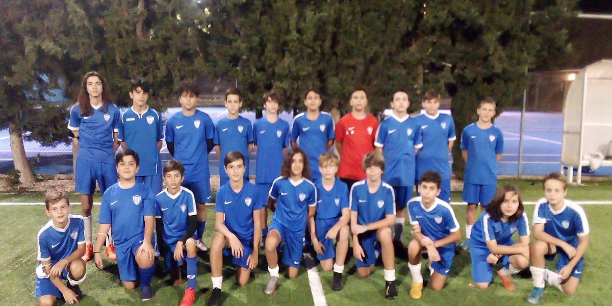 2η Αγωνιστική της Κ-14 ομάδας Ποδοσφαίρου
