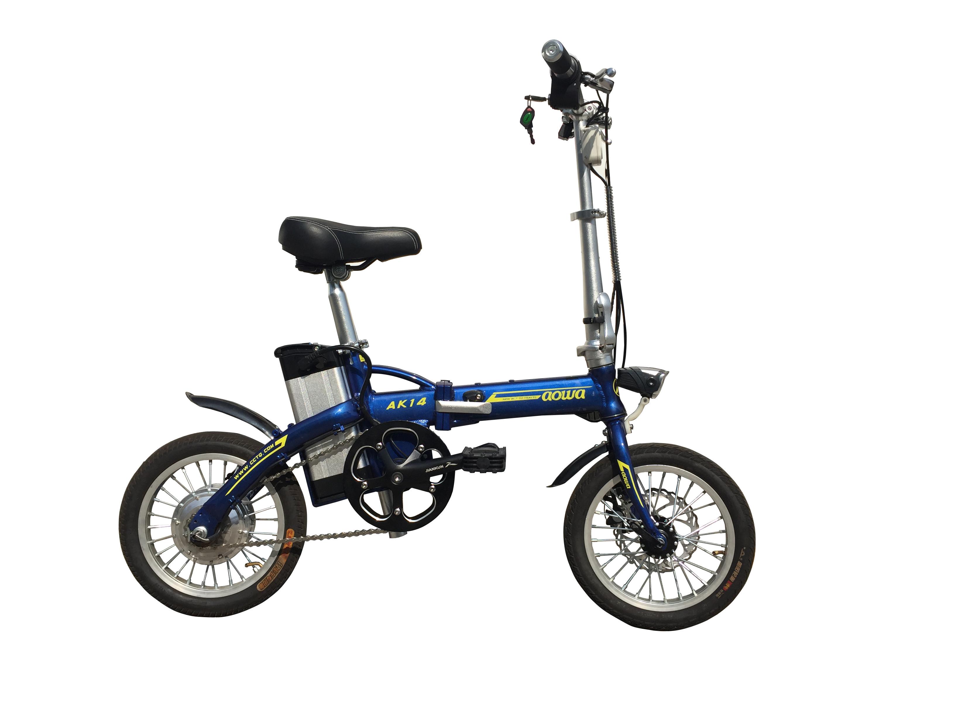 36v 8a Lightweight Folding Electric Bikes Foldaway