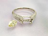 ブライダル:宝石・デザイン共ご提案
