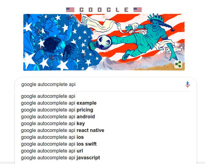 google autocomplete api 1