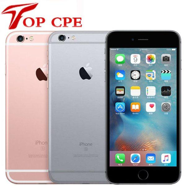 "Apple iPhone 6S Plus Original Unlocked 5.5"" IOS 16GB/32GB/64GB/128GB ROM 2GB RAM 12.0MP Dual Core 4G LTE 6SP Mobile Cell Phone 1"