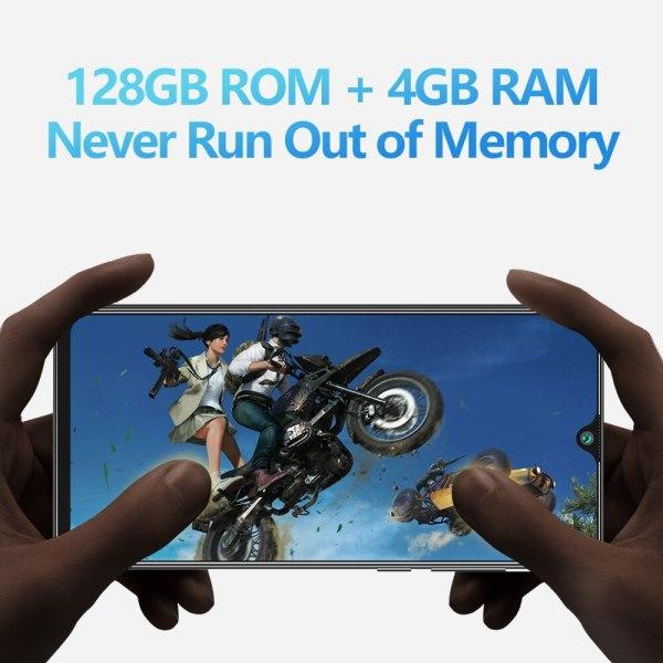 Cubot P40 אחורי Quad מצלמה 20MP Selfie Smartphone NFC 4GB 128GB 6.2 אינץ 4200mAh אנדרואיד 10 dual SIM כרטיס טלפון נייד 4G LTE 4