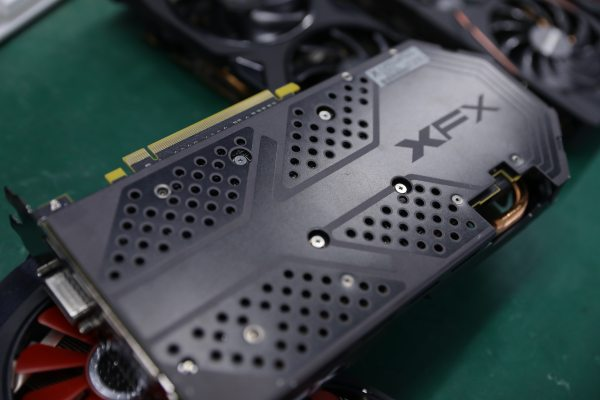 Used XFX RX 580 8GB 2304 256bit GDDR5 desktop pc gaming graphics cards video card not mining 580 8G 4