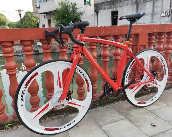 24speed 700C road bicycle cycling bicicleta road bike man& woman bike Disc brakes 3