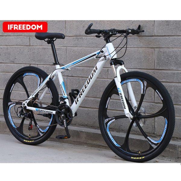 26 INCH Bike 21-Speed Mountain Bicycle Aluminium Double Disc Brake MTB Bike Bisiklet Bicicleta Mountain Road Cycling mtb 6.18 3