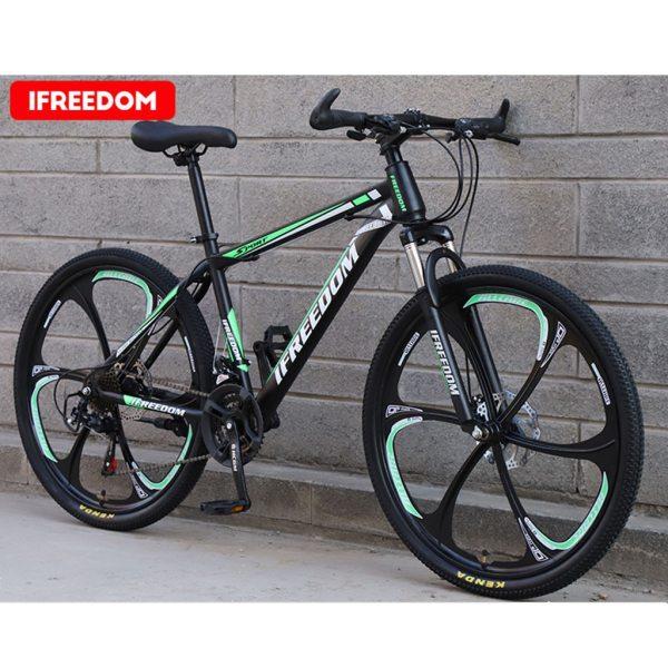 26 INCH Bike 21-Speed Mountain Bicycle Aluminium Double Disc Brake MTB Bike Bisiklet Bicicleta Mountain Road Cycling mtb 6.18 4