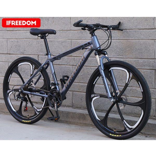 26 INCH Bike 21-Speed Mountain Bicycle Aluminium Double Disc Brake MTB Bike Bisiklet Bicicleta Mountain Road Cycling mtb 6.18 5