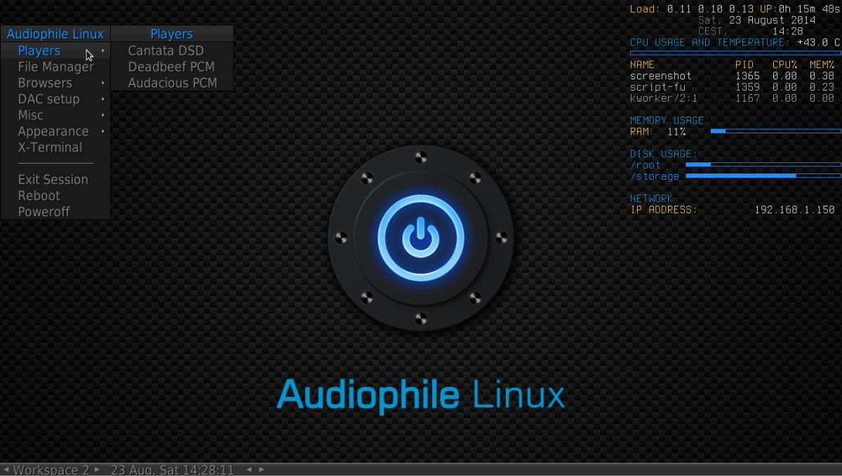 Audiophile Linux v3 1 is released | AudioPhile Linux