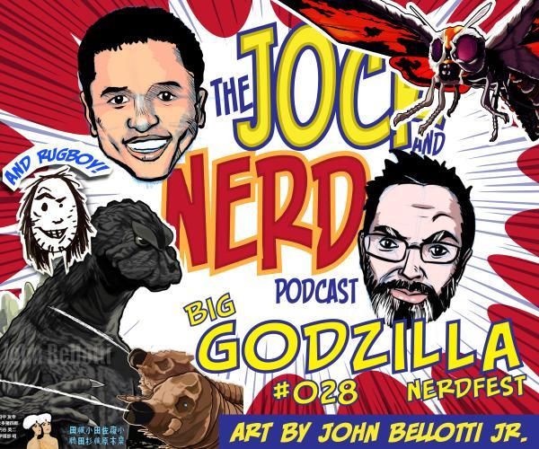 Jock And Nerd Godzilla