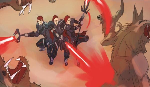 The Knights battle the Schrief!