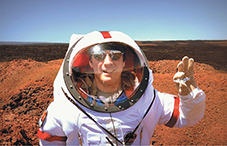 U.S. Air Force Reserve Officer Casey Stedman served as commander for the second mission of the Hawai'i Space Exploration Analog and Simulation project.