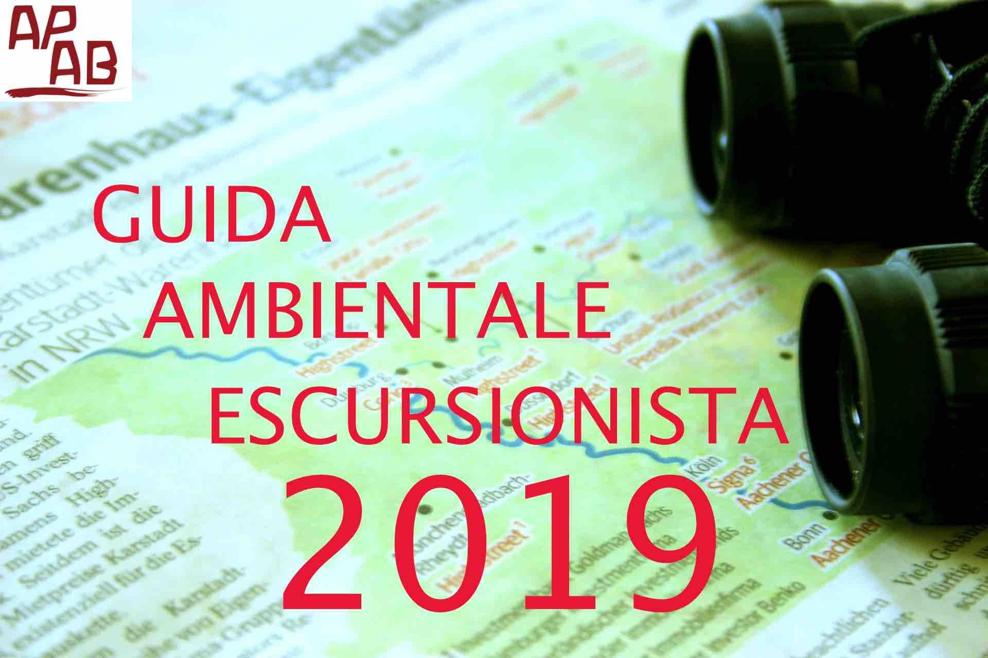 Corso Per Guida Ambientale Escursionista 2019