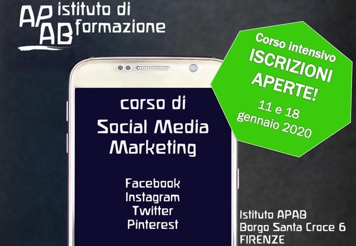 Aperte Le Iscrizioni Al Corso Di Social Media Marketing
