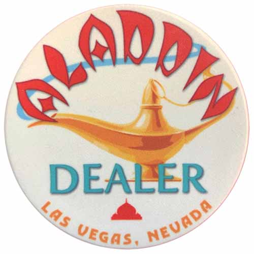 Aladdin Las Vegas Casino Dealer Button