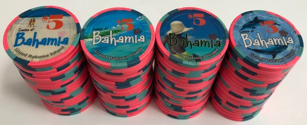 Bahamia Casino $5 Chips