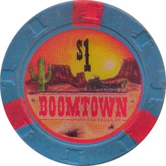Boomtown $1 Las Vegas Casino Chip