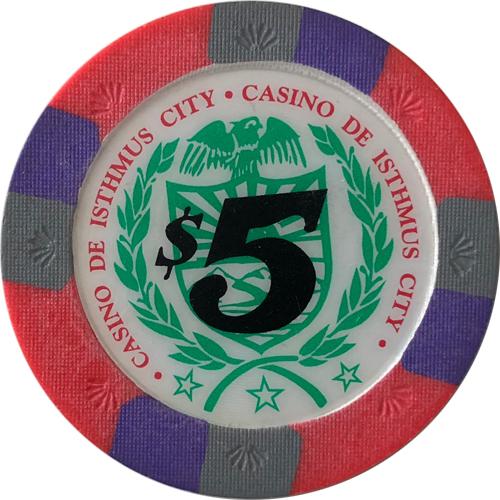 Casino De Isthmus City Blue Chip Poker Set