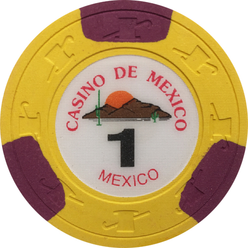 Casino De Mexico Paulson Poker Chips