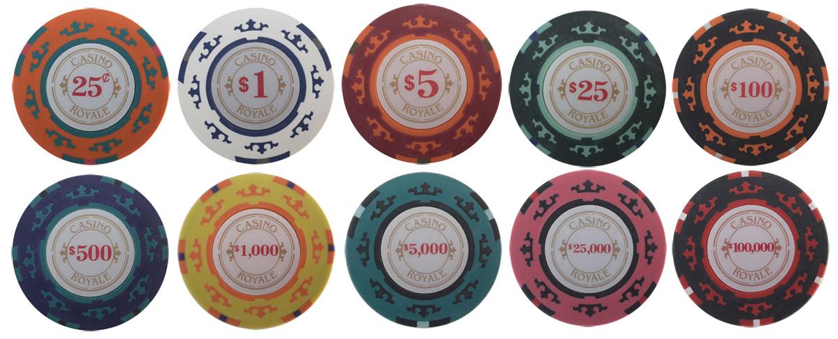 Casino Royale Poker Sample Chips