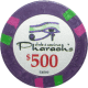 Pharaoh's Poker Chips - $500 Pharaoh chips