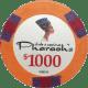 Pharaoh's Poker Chips - $1000 Pharaoh chips