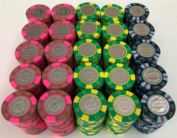 Condado Plaza Bud Jones Casino Chips