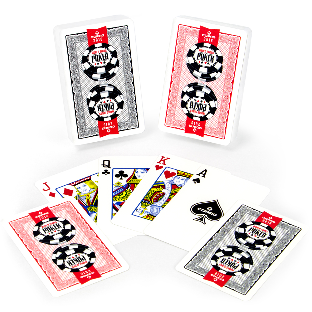 Copag 2016 WSOP Plastic Playing Cards
