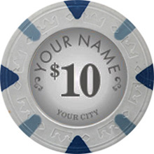 Custom Majestic Poker Chips