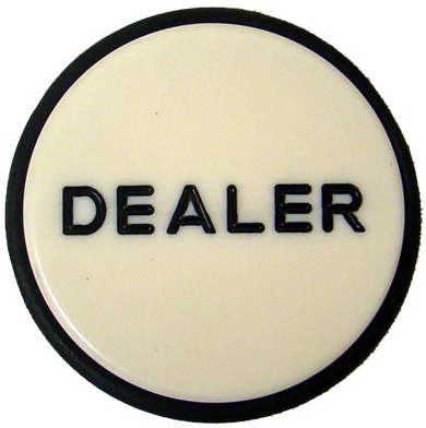 Dealer Puck Button