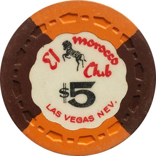 El Morocco Club Tr King Casino Chip