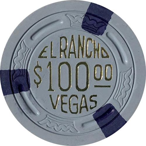 El Rancho Vegas TR King Poker Chip