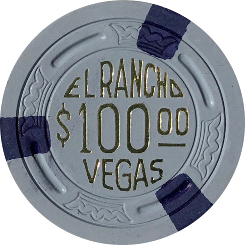 El Rancho Vegas TR King Poker Chip