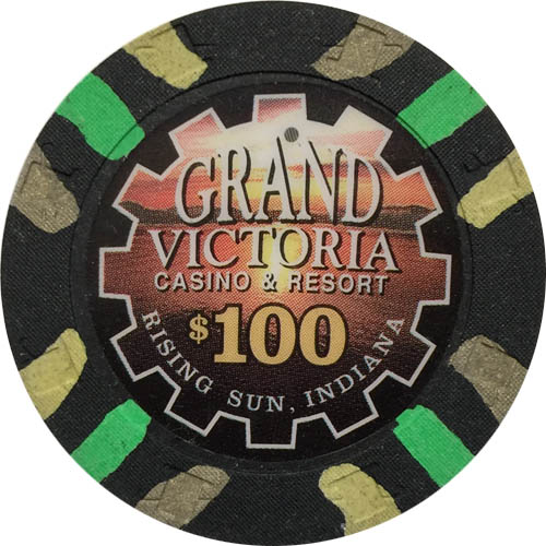 Grand Victoria Paulson Poker Chip
