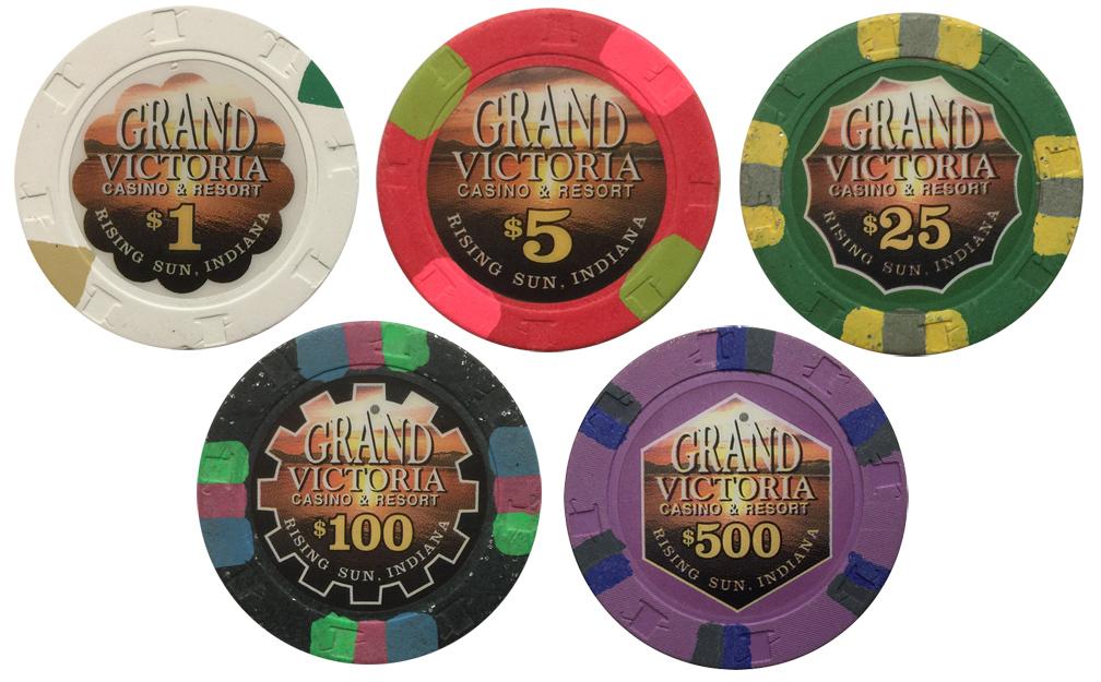 Grand Victoria Paulson Poker Chips