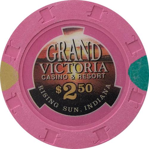 Grand Victoria Casino Quarter Poker Chip