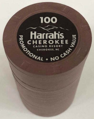 $100 Harrah's Cherokee Casino Chips