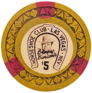 Horseshoe Arodie Casino Chip