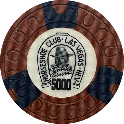 Horseshoe Casino $5000 Chip Benny Binion