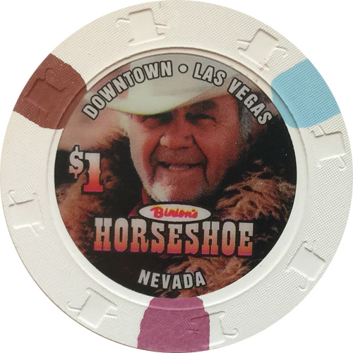 Horseshoe Casino Benny Binion $1 Chip