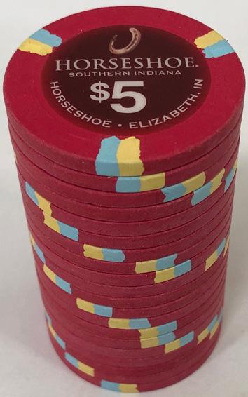 Horseshoe Casino Indiana Paulson Poker Chip