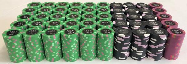 Jack Casino Paulson Poker Chips Set