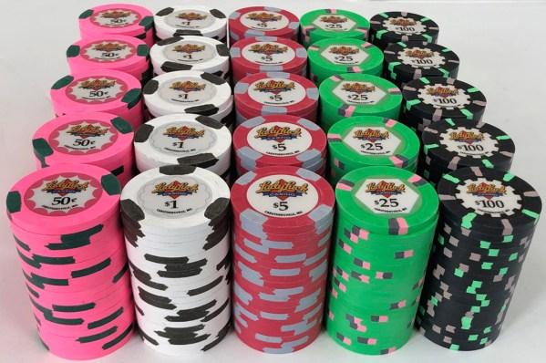 Lady Luck Casino Paulson Poker Chip Set