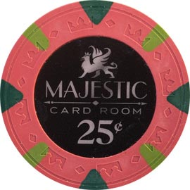 majestic poker chips - Clay Poker Chips