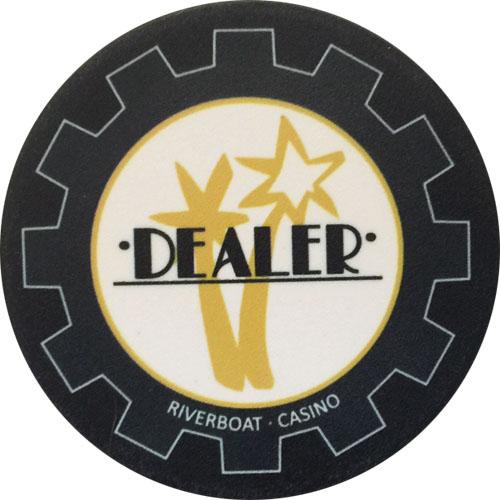 Par A Dice Casino Poker Dealer Button