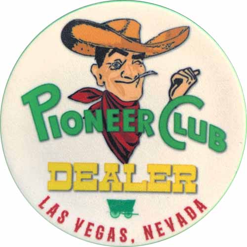 Pioneer Las Vegas Casino Dealer Button