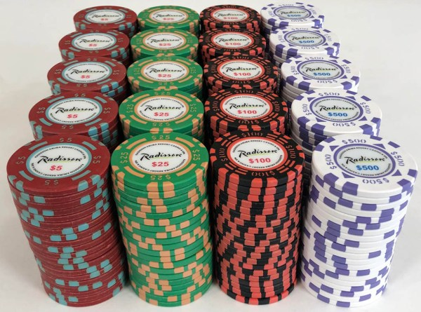 Radisson Casino Matsui Poker Chip Set